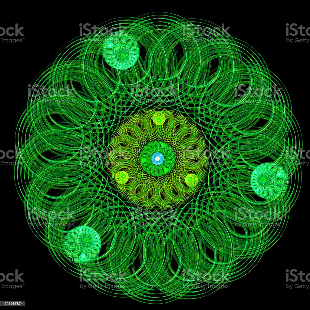 Incredible exotic pattern. stock photo