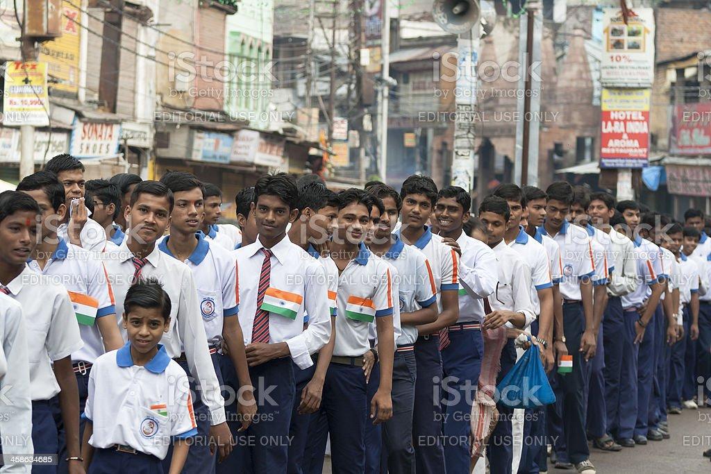Indenpendence Day (India) royalty-free stock photo