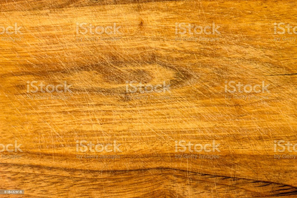 indented surface of the cutting board stock photo