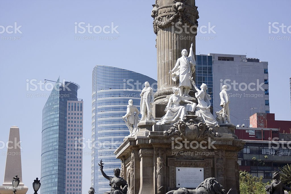 independece monument royalty-free stock photo