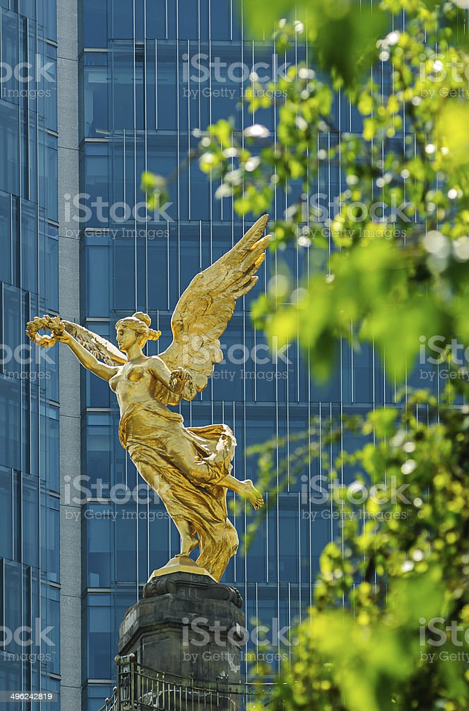 Independence Angel, Mexico City stock photo