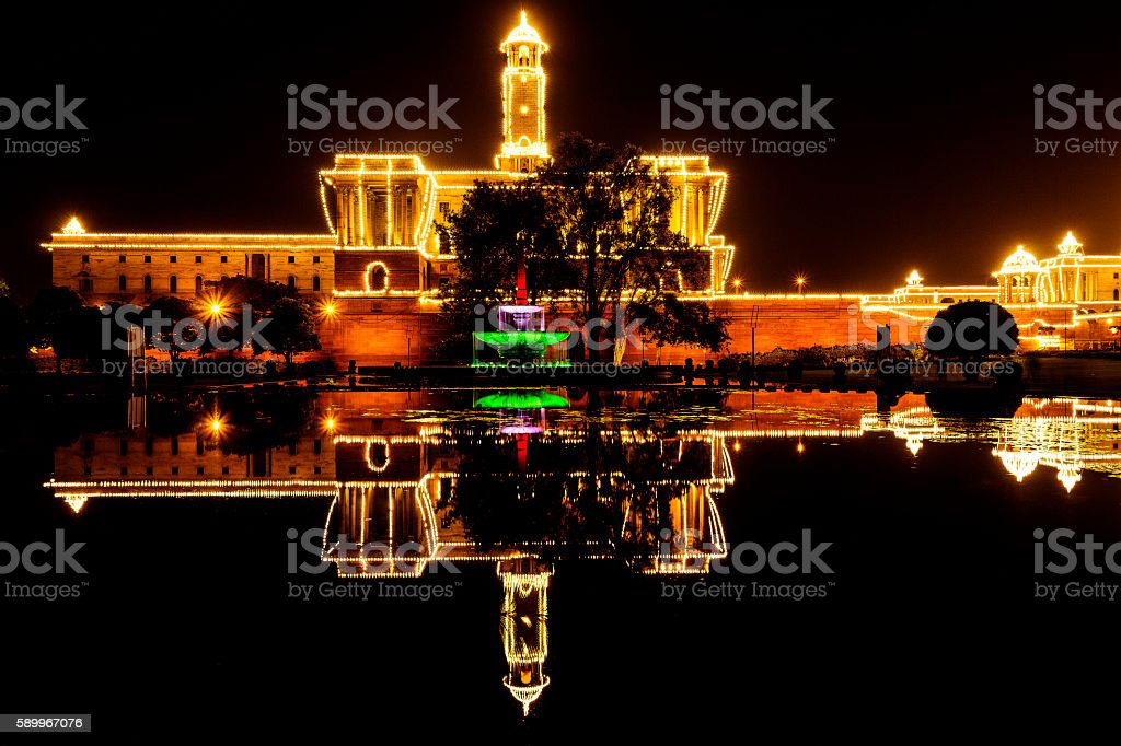 Independence Day celebrations of India stock photo
