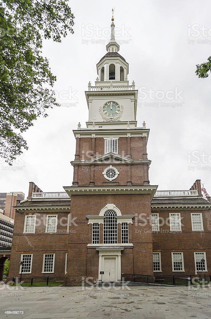 Independence Hall in Philadelphia, Pennsylvania. stock photo