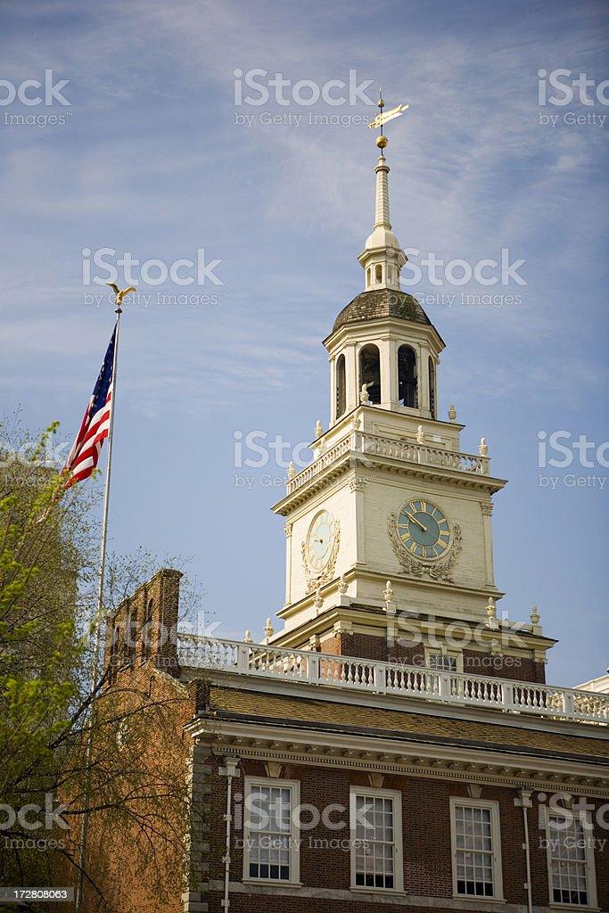 'Independence Hall, Philadelphia' stock photo