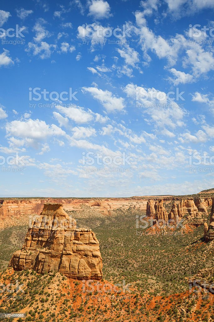 Independence Monument - Colorado National.Monument royalty-free stock photo