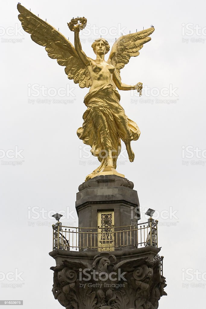 Independence Monument, Mexico City royalty-free stock photo