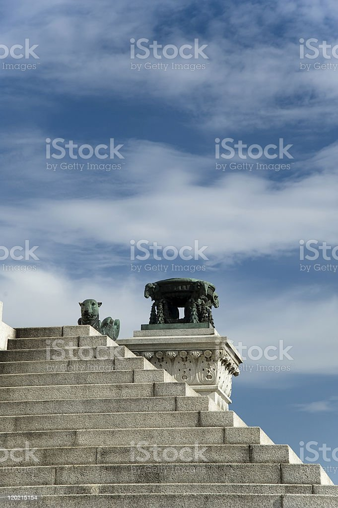 Independence Monument royalty-free stock photo
