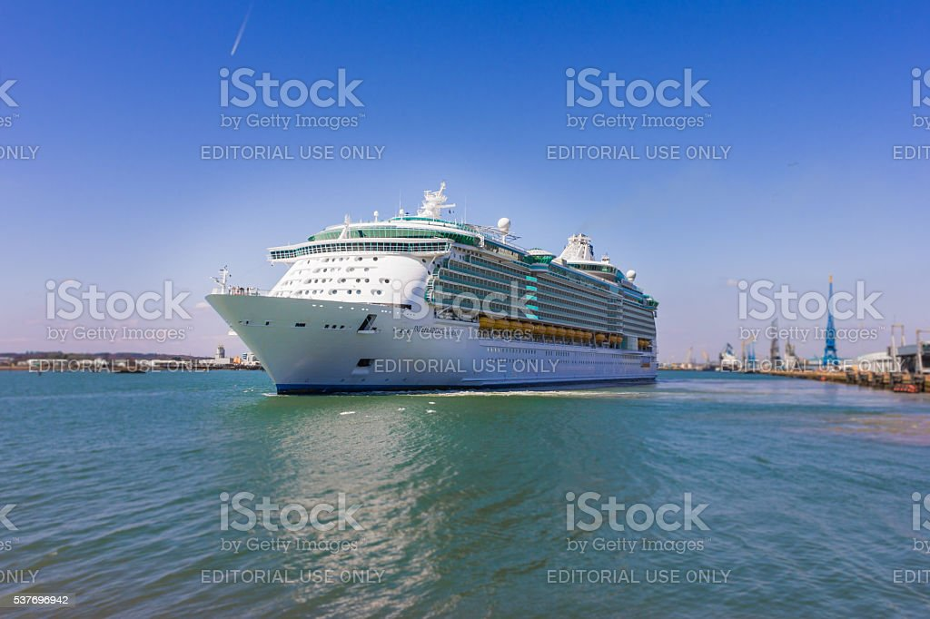 Independence of the Seas. stock photo