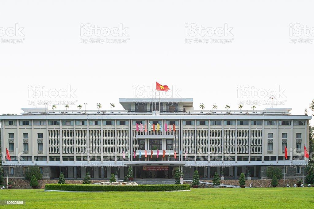 Independence Palace - Reunification Palace - Vietnam stock photo