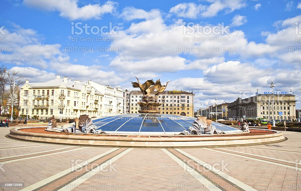 Independence Square stock photo