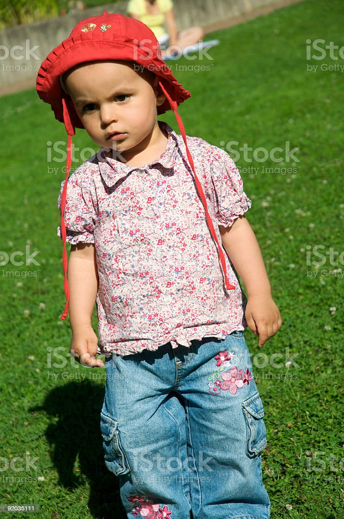 independent girl royalty-free stock photo