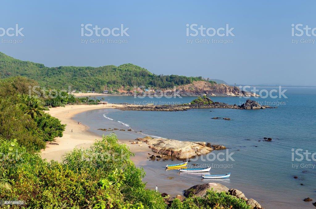 India beach stock photo