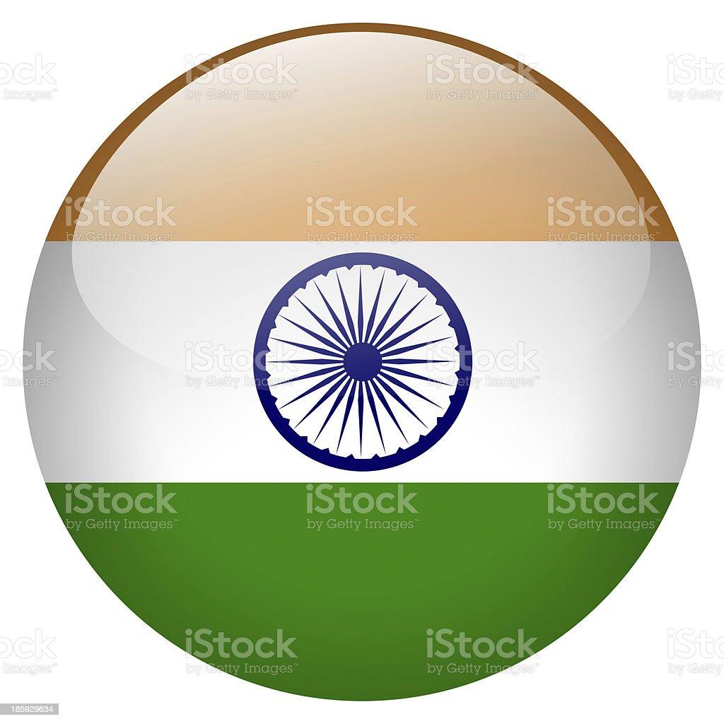 india button stock photo
