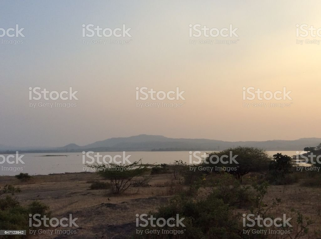 India Country Side stock photo