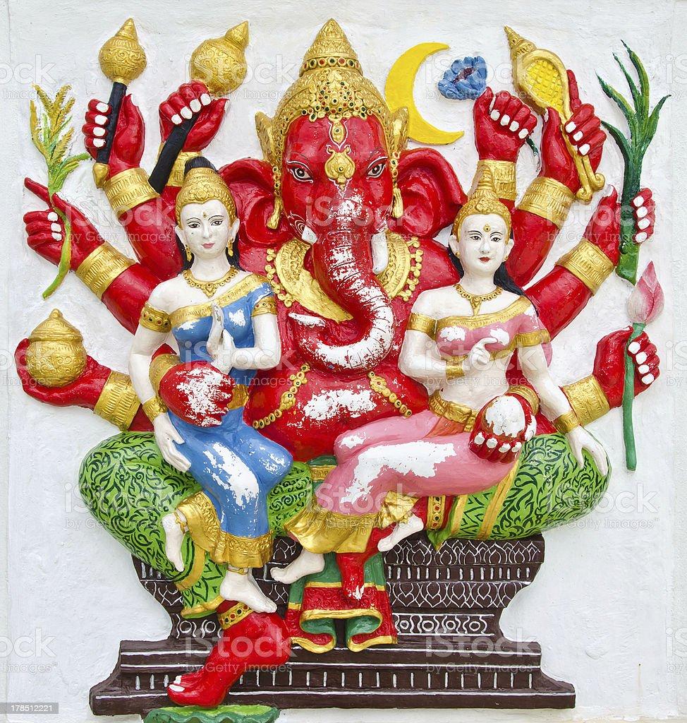 India Ganesha god of success royalty-free stock photo