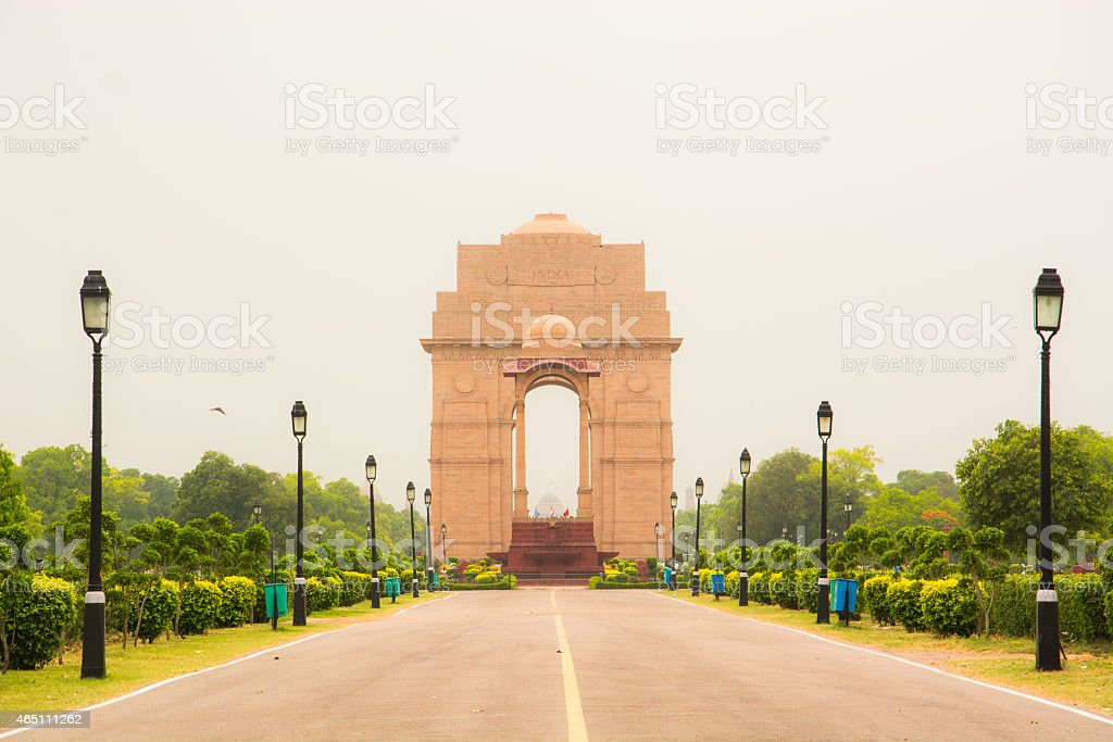 India gate stock photo
