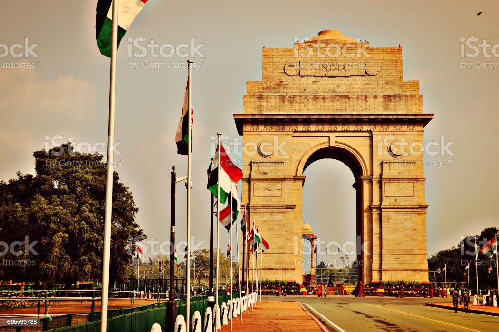 India Gate stock photo