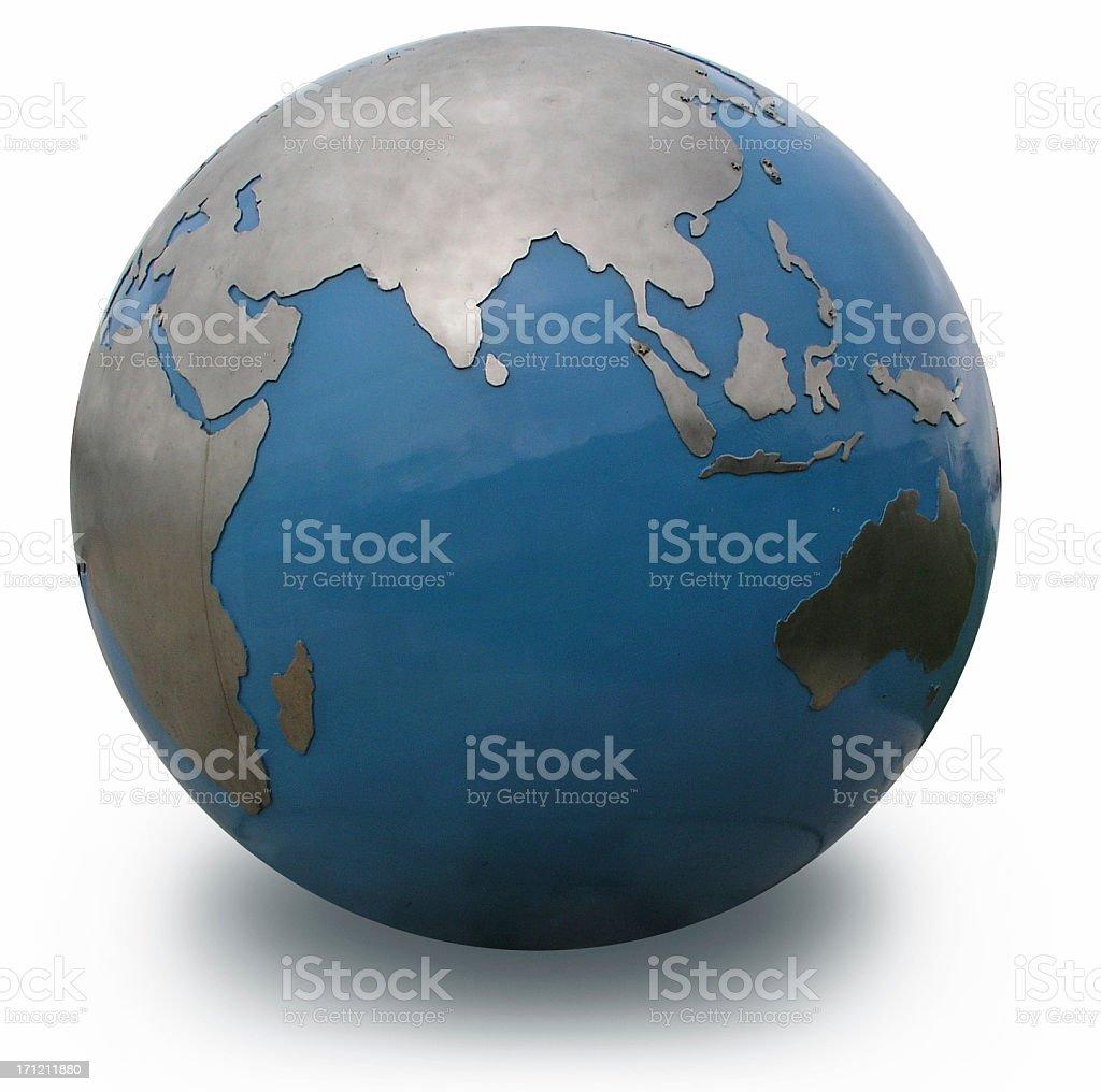 India Globe stock photo