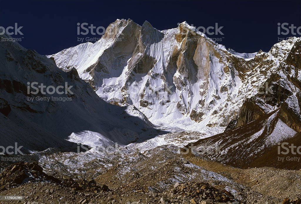 India. Himalayas Garhwalu. royalty-free stock photo