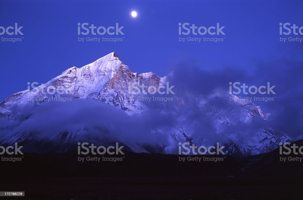 India. Himalayas. royalty-free stock photo