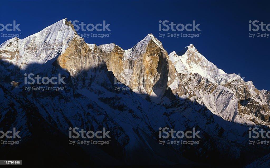 India. Himalayas stock photo