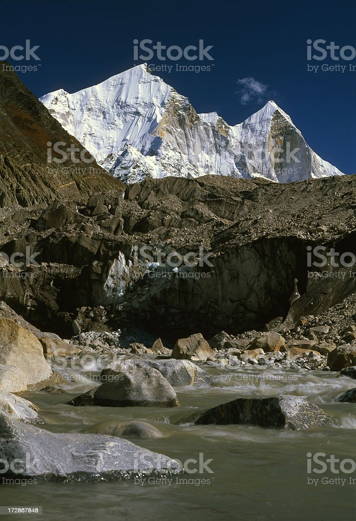 India. Himalayas royalty-free stock photo