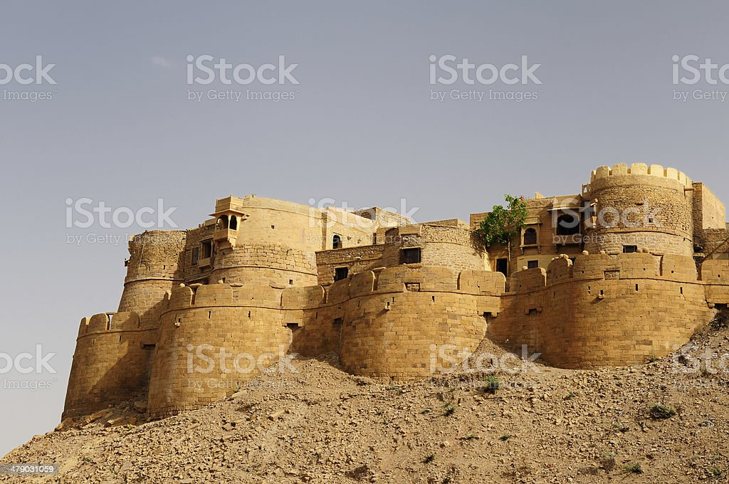 India, Jaisalmer Fort stock photo