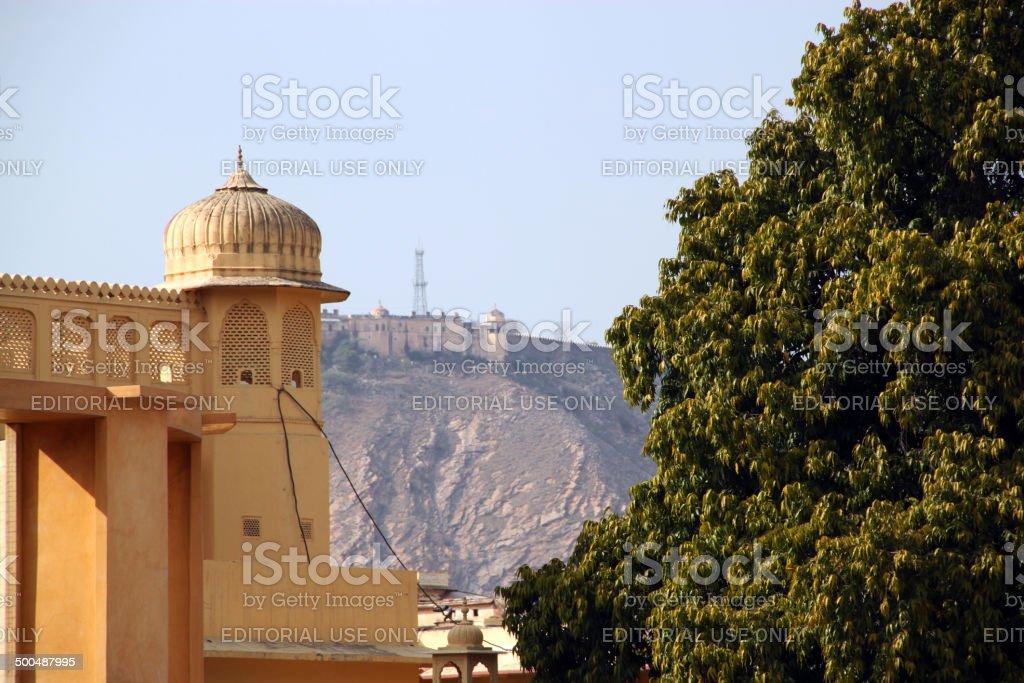 India: Jantar Mantar in Jaipur stock photo