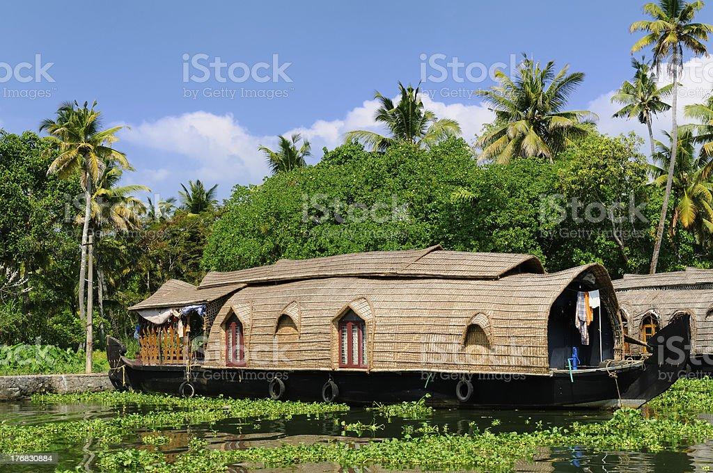 India - Kerala canal royalty-free stock photo