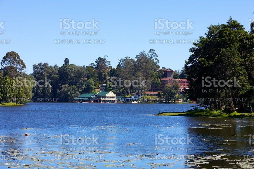 India - Kodaikanal Lake royalty-free stock photo