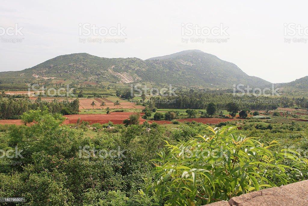 India landscape stock photo