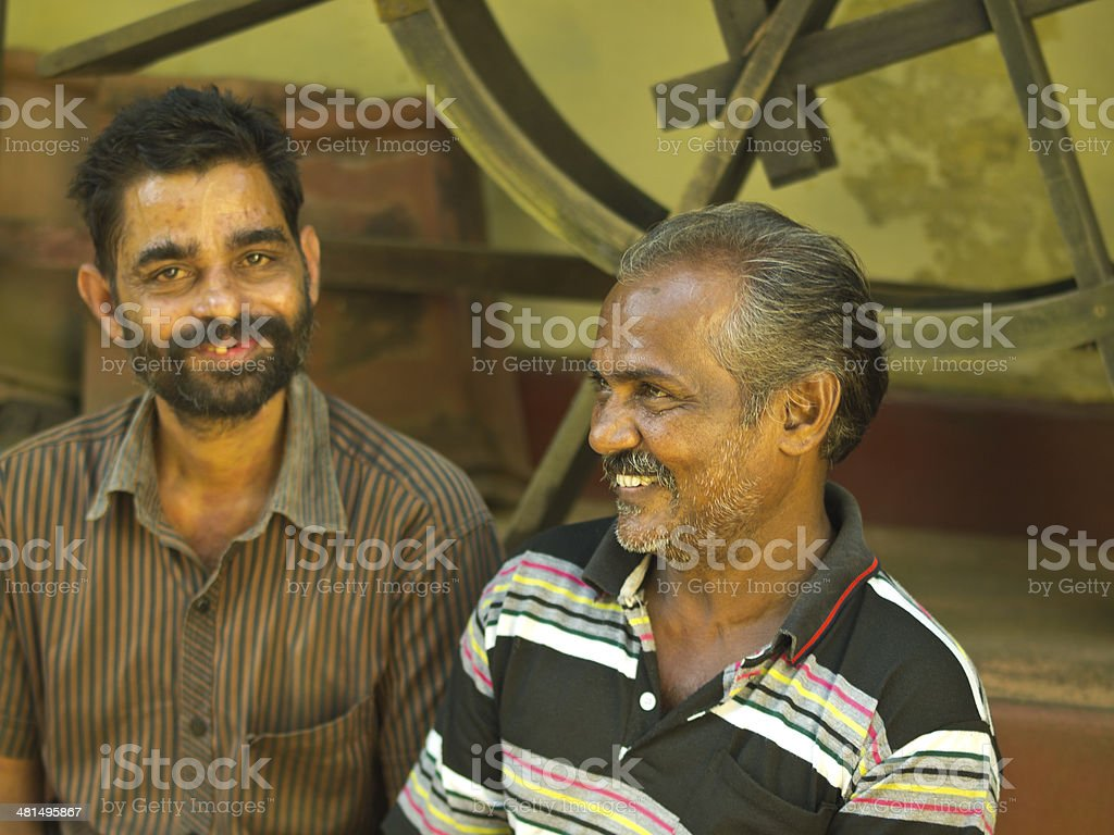 India man stock photo