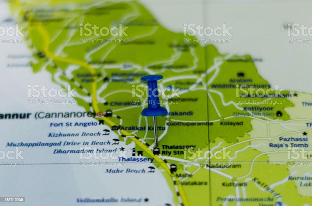 India map stock photo