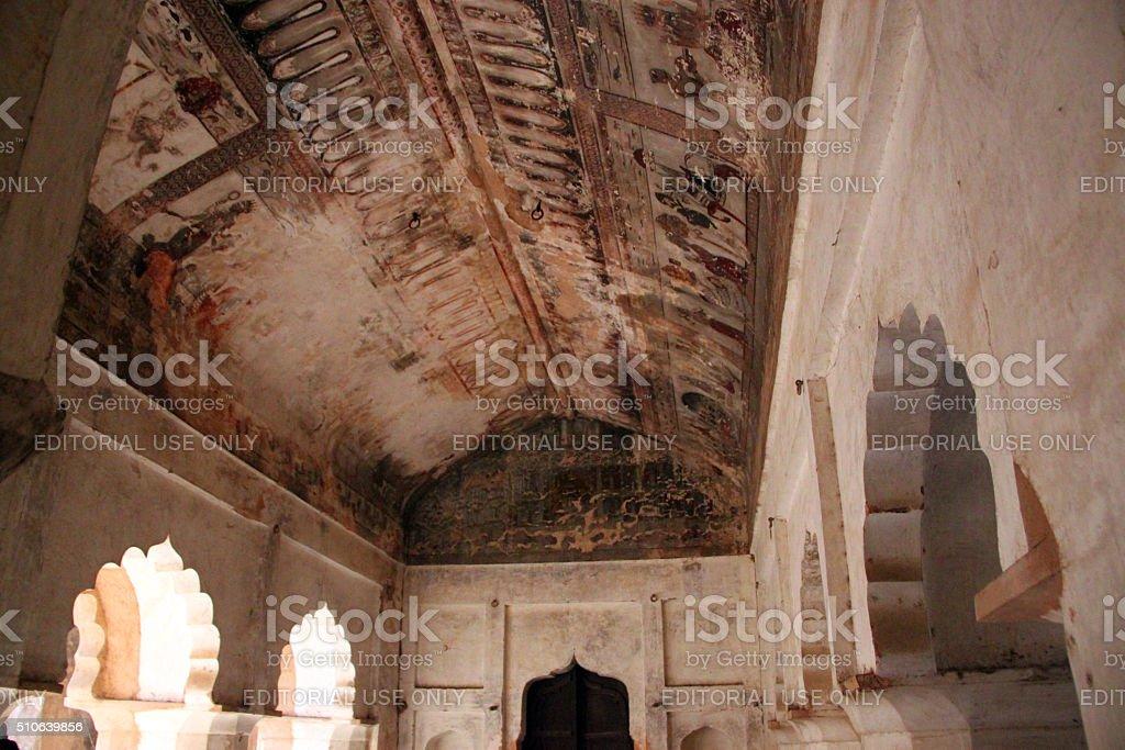 India: Orchha Palace (Jahangir Mahal) stock photo