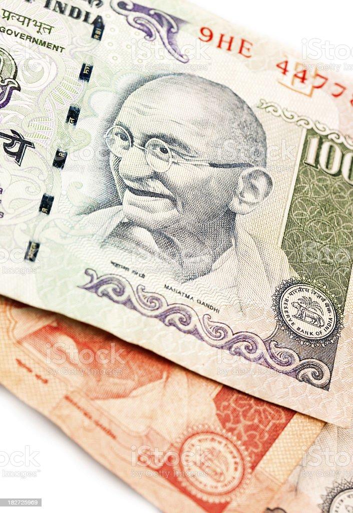 India Rupees stock photo