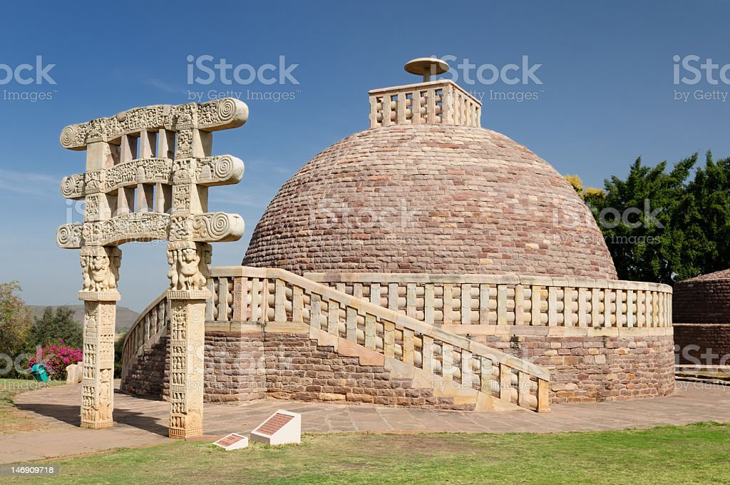 India - Sanchi stock photo