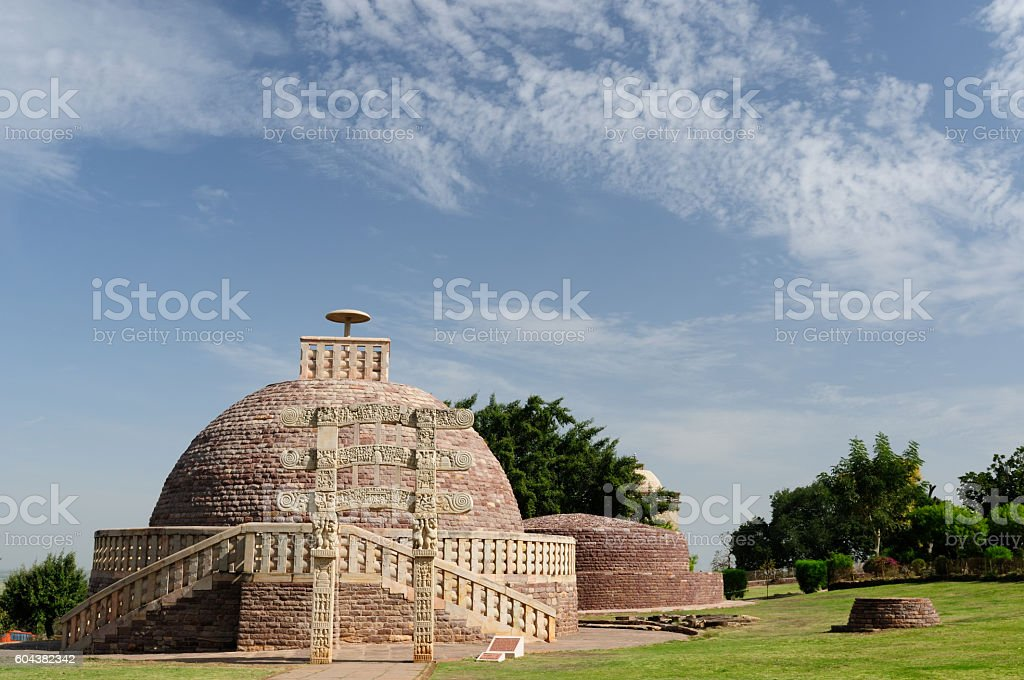 India, Sanchi stock photo