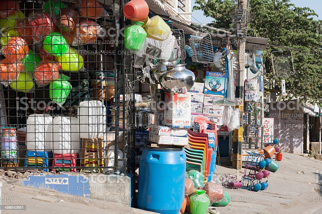 India store royalty-free stock photo