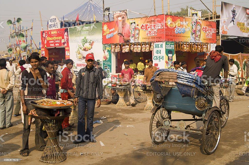 India Street Scene royalty-free stock photo