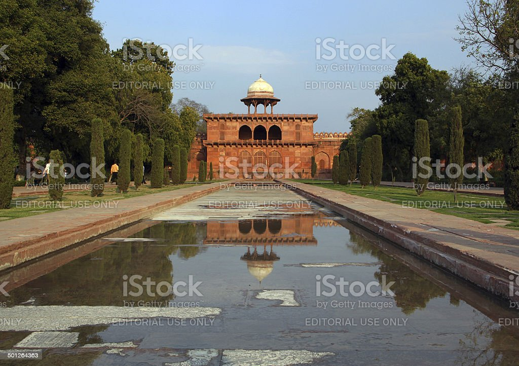 India: Taj Mahal in Agra stock photo