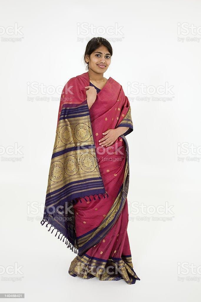India Teen royalty-free stock photo