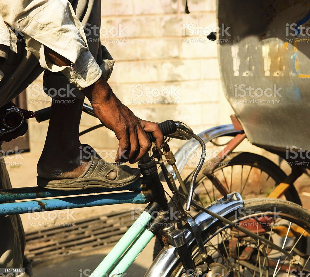 india traffic detail stock photo
