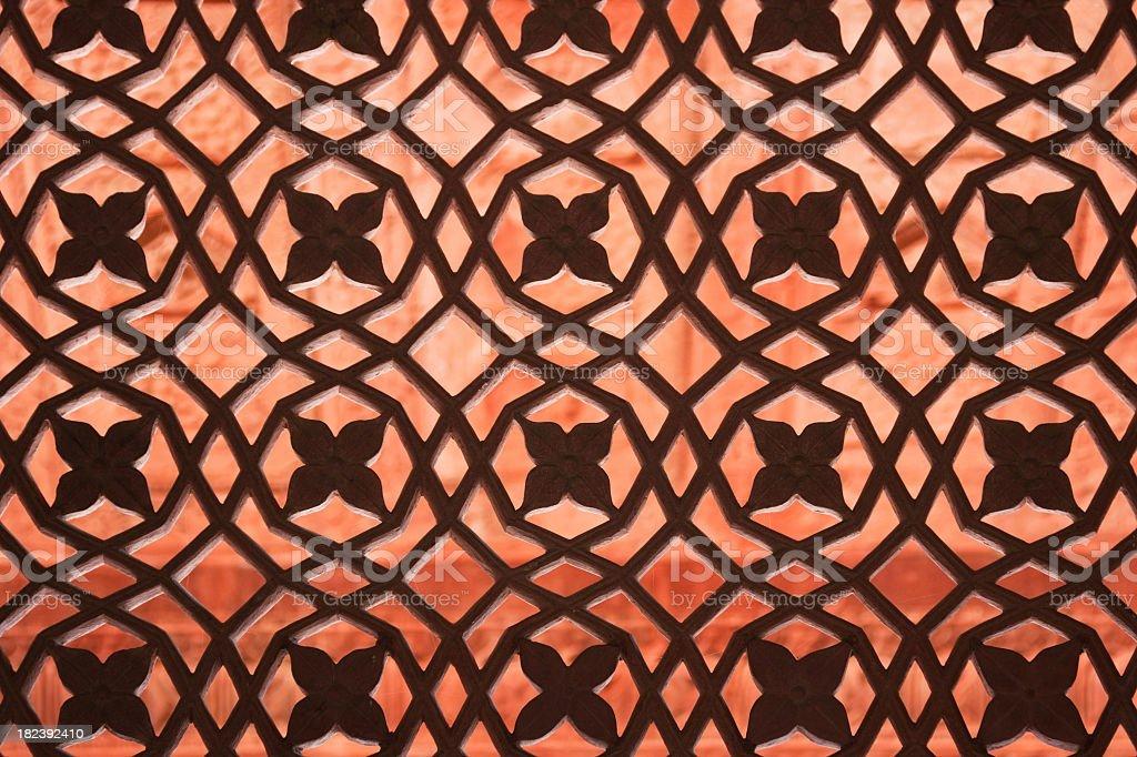 India Window royalty-free stock photo