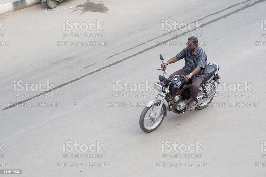 India_Motorcycle stock photo