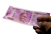 Indian 2000 Rs Currency Note