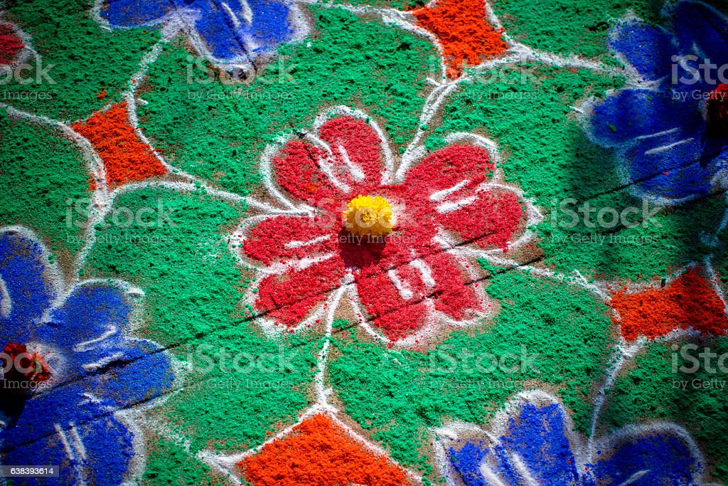 Indian abstract background stock photo