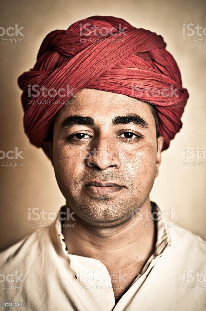Indian Adult Man stock photo