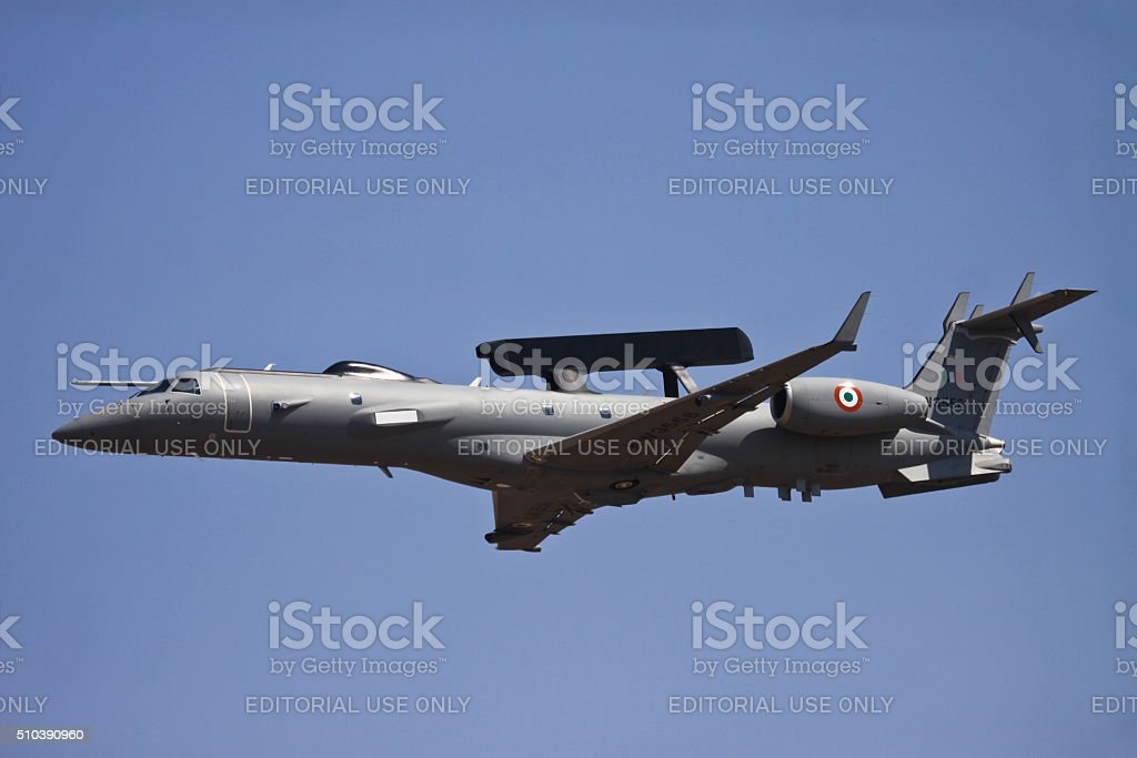 Indian Air Force AEWACS stock photo