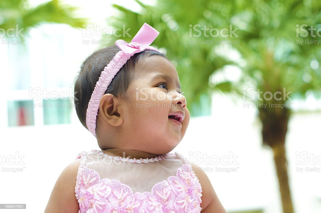 Indian baby girl royalty-free stock photo
