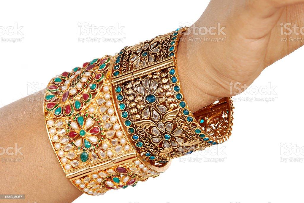 Indian  Bangle royalty-free stock photo
